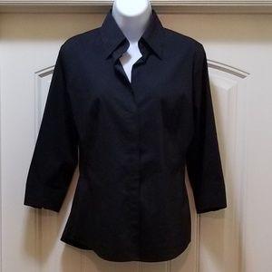 NY&C Black dress shirt